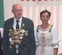 Schützenkönigspaar 2001