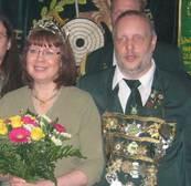 Schützenkönigspaar 2010