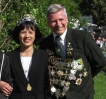 Schützenkönigspaar 2011
