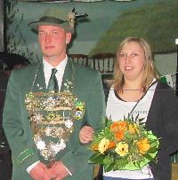 Schützenkönigspaar 2016